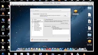 Connecting to MAC OS desktop remotely from Windows.