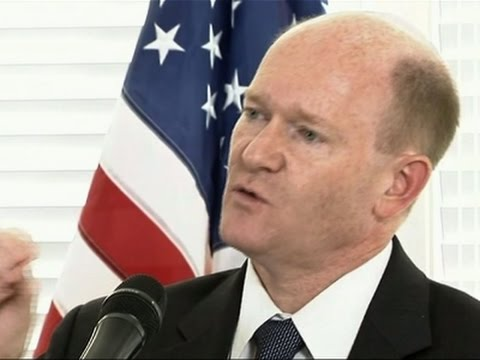 Sen. Chris Coons to Vote