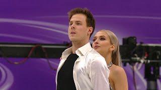 Виктория Синицина Никита Кацалапов Произвольный танец Гран при по фигурному катанию 2020 21