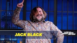 Jack Black Delivers the Best Entrance in Late Night History