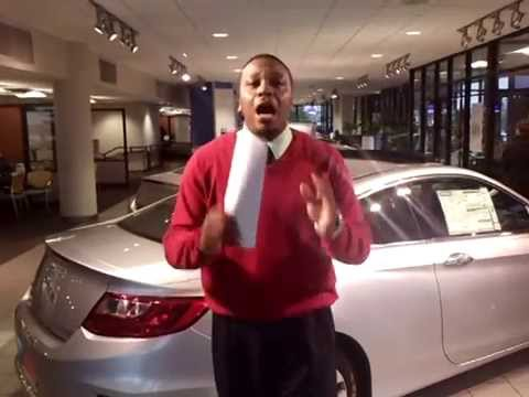 2014 Honda Accord Coupe EX for Beverly! Simeon from Tameron Honda shows it off!