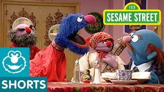 Sesame Street: Charlie's Russian Restaurant with Grover