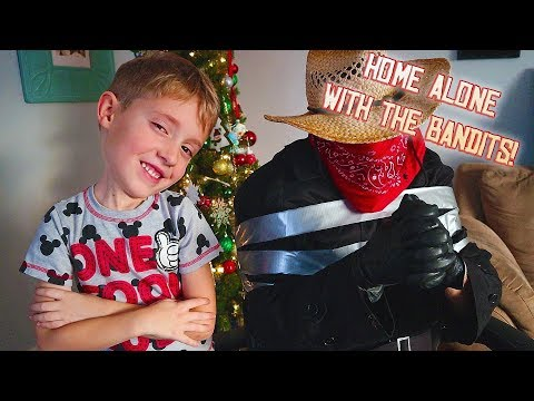 Trapping The Bandit! Home Alone In Real Life Part 2!