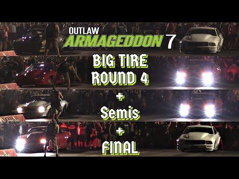 Download Outlaw Armageddon 7 - Big Tire: Round 4, Semi-Finals & Final Round, Ryan Martin vs Kayla Morton