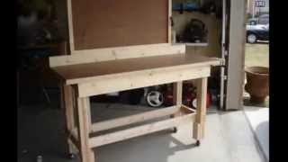 Workbench Plans | How To Build A Workbench