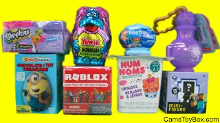 Surprises Roblox Minecraft Mini Figure Num Noms 3 2 Shopkins Season 7 Minions Egg Teenie Genie Toys