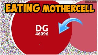 WORLD RECORD LARGEST MOTHERCELL + AGARIO PRO PLAYS