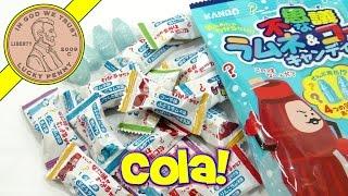 Kanro Ramune Cola Soda Hard Candy