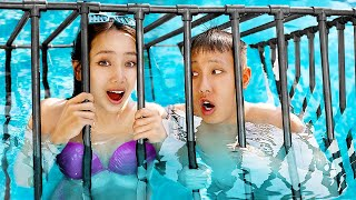 We Spent Our Vacation in Jail! Hotel in Jail!