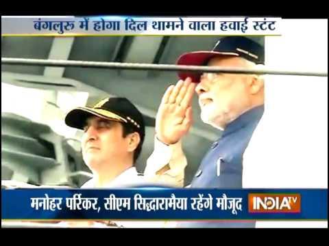 Aero India 2015: PM Modi to Inaugurate Air Show in Bengaluru Today - India TV