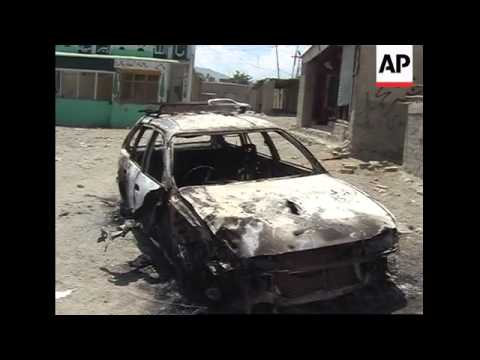 Aftermath of attack in north Waziristan