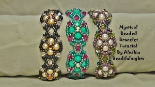 Mystical Beaded Bracelet Tutorial