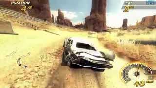 FlatOut 2 - Desert Oil Field - PC Gameplay