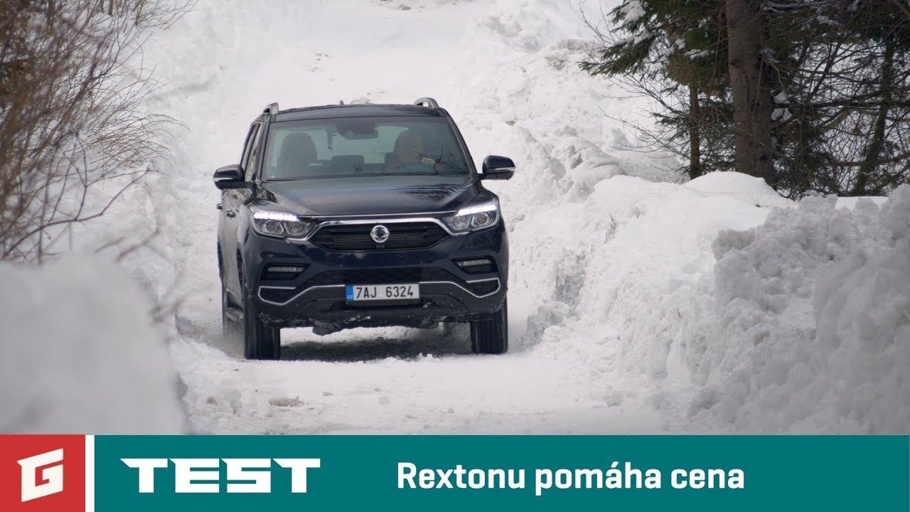 SsangYong REXTON G4 Premium 4WD - TEST - GARÁŽ.TV - YouTube