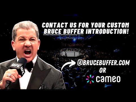 Personalized Championship Introduction by Bruce Buffer
