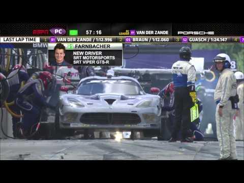 2013 Mosport Race Broadcast - ALMS - Tequila Patron - ESPN - Sports Cars - Racing - CTMP