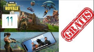 Fortnite: Battle Royale - FREE for your iPhone, IPad and IPod Touch (iOS 11)