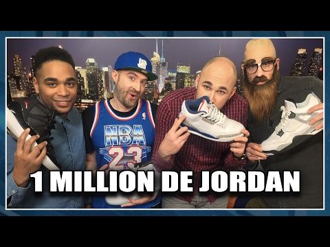 1 MILLION DE JORDAN Feat. Cj23 ! NBA First Day Show #9