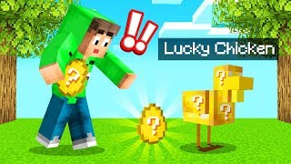 We Opened LUCKY CHICKEN EGGS In MINECRAFT!