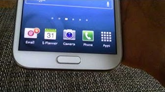 How to Delete a Gmail Account from Android Smartphone Samsung Galaxy Note 2