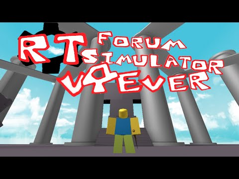The ROBLOX Talk Forum Simulator - V4(ever)