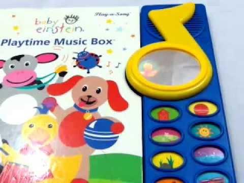 Baby Einstein Playtime Music Box Magic Mirror Screen