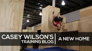 Casey Wilson Training Blog 1 - A New Home