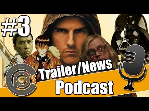 Cinepinions FilmPodcast #3 - Trailertalk/News | MI:5, neue Akte X Folgen, Sushi Girl, Fanboys