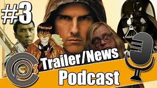 Cinepinions Podcast #3 - Trailertalk/News | MI:5, Ip Man 3, neue Akte X Folgen, Sushi Girl, Fanboys
