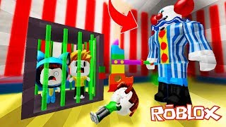 THE PAYASO ASESINO SECUESTRS US!! PARKOUR OBBY CIRCO ROBLOX 💙💚💛 BE BE BE BE BE BE BE BE BEBE MILO VITA AND ADRI 😍 AMIWITOS