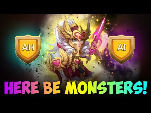 JT's Main Here Be Monsters AH And AI Castle Clash