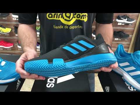 zapatillas adidas padel hombre