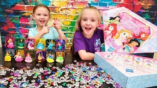 Opening Disney Princess Gem Collection Toys from Hasbro!