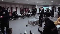 Jesse Marsch's half-time teamtalk for RB Salzburg vs Liverpool is incredible 🤯
