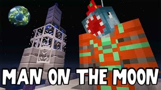 Minecraft Xbox - MAN ON THE MOON?!! - Building Time [#79]