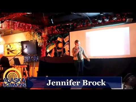 Anchorage Science Pub: Jennifer Brock & Rocky Capozzi