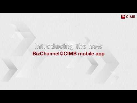 Introducing The BizChannel@CIMB Mobile App