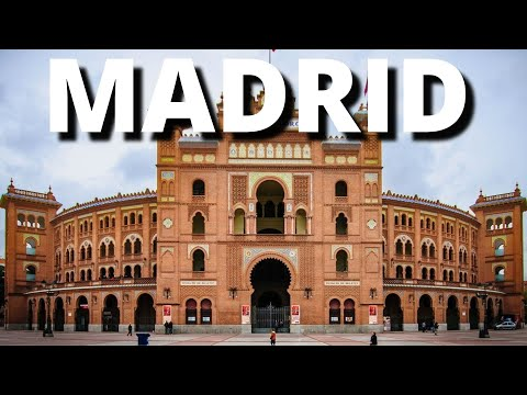 City Break to Madrid Spain Holiday Travel Tour Vacation Visit Video 2018