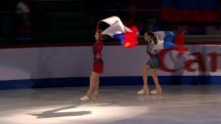 Российская фигуристка Камила Валиева выиграла ЧМ среди юниоров у Дарьи Усачевой серебро