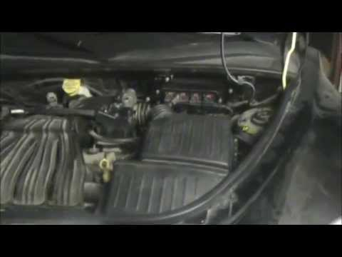 hqdefault how to change the pcm on a chrysler pt cruiser youtube 2002 pt cruiser engine wiring harness at creativeand.co