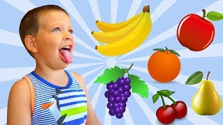 """""""No No"""" Fruits Song 
