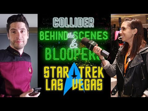 Star Trek Con in Las Vegas - Collider Behind the Scenes & Bloopers