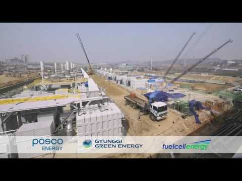 Constructing the World's Largest Fuel Cell Park