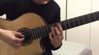 (Sungha Jung) Rainy Day - Sungha Jung (Guitar Ver)