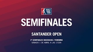 Video 2ª Semifinal Femenina / Masculina Santander Open 2017 | World Padel Tour download MP3, 3GP, MP4, WEBM, AVI, FLV September 2017