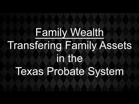 Family Wealth Lawyer - Transfering Real Property & Assets