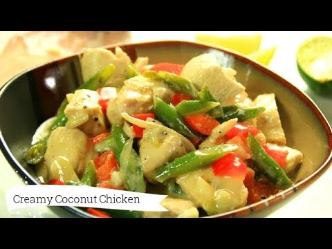 Creamy Coconut Lime Chicken In 30 Minutes