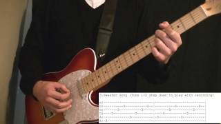Top 10 Weezer Guitar Riffs (with tabs)