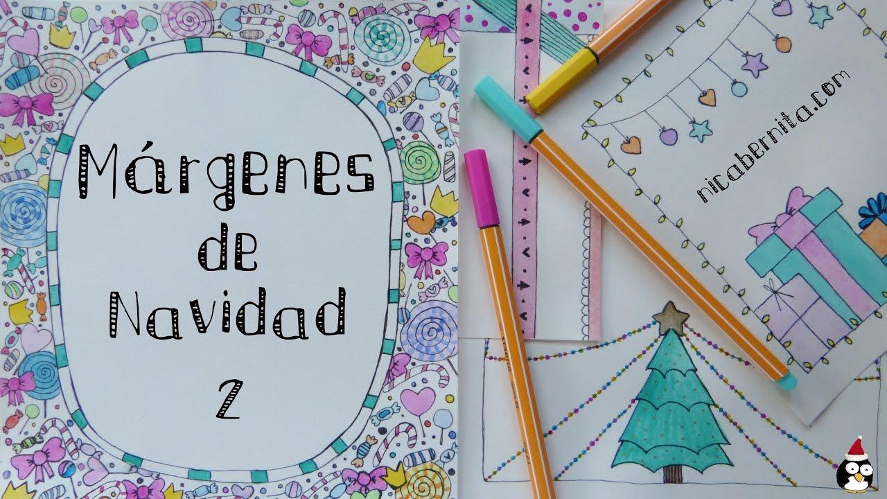 Márgenes Para Portadas De Cuaderno Y Bordes Para Decorar Cartas Y