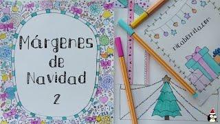 MÁRGENES para PORTADAS DE CUADERNO y BORDES para decorar CARTAS y TARJETAS de Navidad (2)